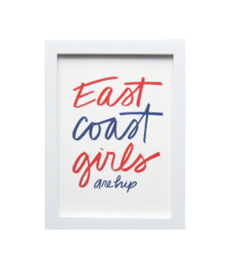 East Coast Girls Print