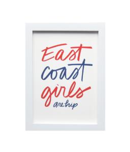 East Coast Girls Print