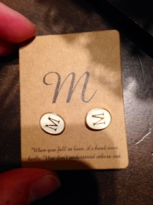 Cute, personalized earrings